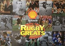 1992 Shell Rugby Greats, Cards & Album, Complete New Zealand VGC