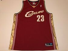 Authentic Lebron James Size 52 Cleveland Sewn Cavs Jersey Shirt Reebok N109
