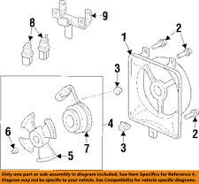 Acura HONDA OEM 97-99 CL 3.0L-V6 A/C AC Condenser Fan-Relay Bracket 80491SY8A00