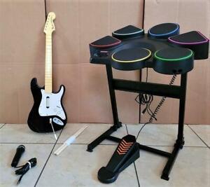 Playstation 3 Konami RARE ROCK REVOLUTION DRUM SET band PS3 guitar hero bundle