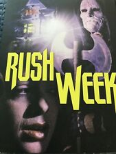 Rush Week Blu Ray W Slip Vinegar Syndrome Region A