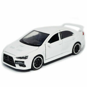 1/32 Mitsubishi Lancer Evolution X Model Car Diecast Toy Vehicle Kids Gift White