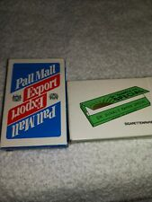 TWO Decks of playing cards in a lot    PALL MALL EXPORT. DR.DUVALS SPECIAL