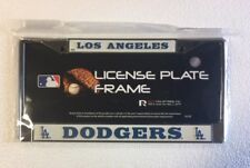 Los Angeles Dodgers Chrome/Metal Auto Tag License Plate Frame New