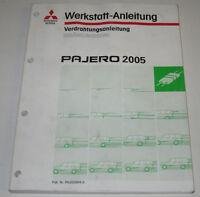 Werkstatthandbuch Mitsubishi Pajero Typ V60 Elektrik ab Baujahr 2005!