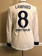 Chelsea England Lampard 8 Player Issue Formotion Football Shirt Adidas Jersey