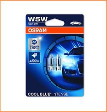 2 piezas W5W Osram Cool Blue Intense Luz de estacionamiento 2825hcbi-02b 12v