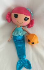 "Lalaloopsy Mermaid Doll Coral Sea Shells & Blow Fish Pet 12"" Lot B"