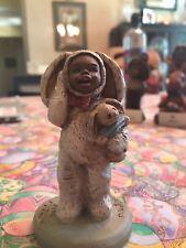 All God's Children Figurine Bootsie #8 Easter Bunny