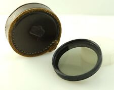 Genuine Nikon Nkkor 52 mm Filtro polar, Nippon Kogaku, Case