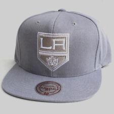 NHL Los Angeles Kings Vintage Mitchell & Ness Slub Cotton Snapback Hat Gray