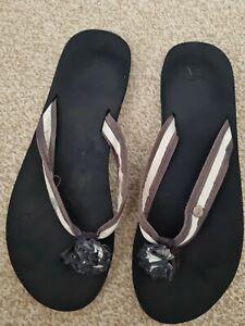 Hollister Ladies Flip Flops Size 4/ 5 Uk.