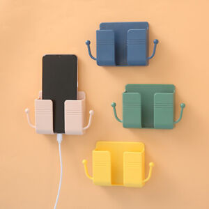 Mobile Phone Holder Wall Mounted Plug For For Control Storage Box Multifunction