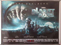Cinema Poster: PLANET OF THE APES 2001 (Main Quad) Mark Wahlberg Tim Burton