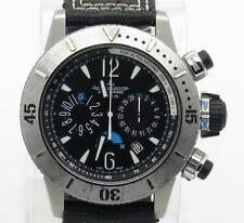 Jaeger LeCoultre Master Compressor Diving Chronograph Watch Ref. 160.T.25 w/ B&P