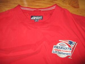 Reebok 2002 NEW ENGLAND PATRIOTS Charitable Foundation Golf Tournament XL Jacket