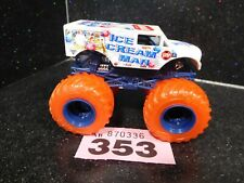 Hotwheels Monster Jam Ice Cream Man (353)