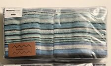 Missoni Home Tabata Hand Towels-SET of TWO-NEW in package…Sold Out on website.