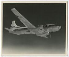 UNITED AIRLINES CONVAIR CV-340 LARGE OFFICIAL VINTAGE MANUFACTURER STAMPED PHOTO