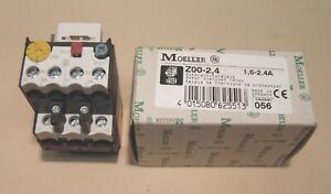 Eaton Moeller Motorschutzrelais Z00-2,4  (1,6...2,4A) NEU/OVP