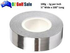 "1/2""  x 100"" HIGH DENSITY SELF ADHESIVE LEAD TAPE ROLL-1g / 1"" GOLF CLUB WEIGHT"