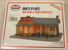 Model Power HO Ma's Place Cafe Restaurant Building Kit 190 New