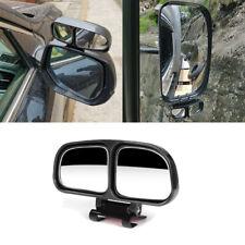 2X Black Truck Car Wing Blindspot Mirror Blind Spot Reverse Wide Angle Rearview