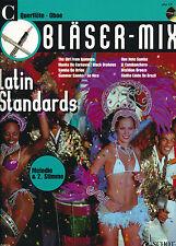 Bläser-Mix -  Latin Standards für C-Instrumente (Flöte/Oboe) mit CD