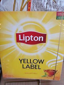3x Lipton Yellow Label 100 Tea Bags (Pack of 3, Total 300 Tea Bags)