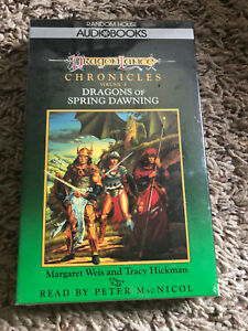 DRAGONLANCE CHRONICLES AUDIOBOOK NEW IN PACKAGE Dragons of Spring Dawning Vol 3