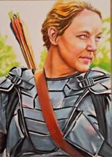 WALKING DEAD Sketch card aceo psc original DIANNE
