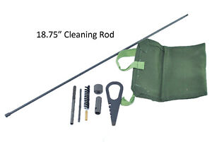 "Mosin Nagant 18.75"" Cleaning Rod M38, M44, M91/59, M91/38, T53 & MN Cleaning Kit"
