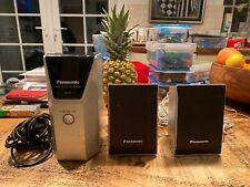 Panasonic SE-FX60 Wireless Link System  Digital Transceiver Reciever +2 Speakers