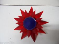 C-7 ILLUMIBRITE MATCHLESS STAR Light - FROSTED RED RED COBALT - 900 SIZE