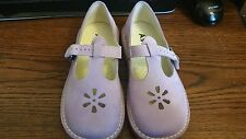 New Aster very Soft Leather Mary Janes Girls Shoes sz31 US sz13