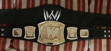 "Metal Replica WWE Spinner Belt (Free DVDs If ""Buy Now"" Selected!)"