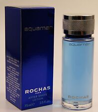 (GRUNDPREIS 53,20€/100ML) ROCHAS AQUAMAN 75ML AFTER SHAVE LOTION OVP