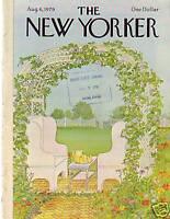 1979 New Yorker August 6 - Garden Arbor