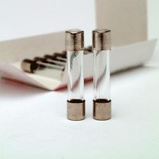 5 x 20mm Lento Blow Bicchiere Fusibile 250V 200mA confezione da 10 SIBA SPEDIZIONE GRATUITA
