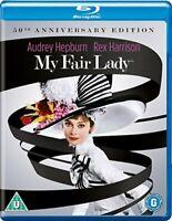 My Fair Lady: 50th Anniversary Restoration [Blu-ray] [1964] [Region Free] [DVD]