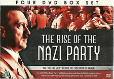 THE RISE OF THE NAZI PARTY - 4 DVD BOX SET - THE CHILLING STORY OF NAZISM