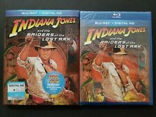 Indiana Jones and Raiders of the Lost Ark w/ Slipcover (Blu-ray, 2013) 1981 New