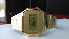 Casio A-168WG-9B Gold 100% original MONTRE watch digital orologio retro dorado