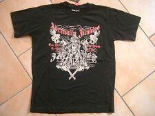 (C475) Cooles Young Rebel Boys T-Shirt mit Druck auf der Brust gr.128-134