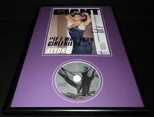 Beyonce Framed Original 2006 Giant Magazine Cover & Cd Display