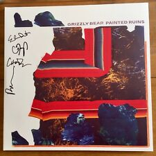 Grizzly Bear - Painted Ruins Signed CD Autographed