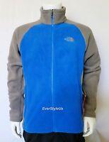 NWT THE NORTH FACE Magal Men's Fleece Jacket Jake Blue/Grey Sz Small , Medium