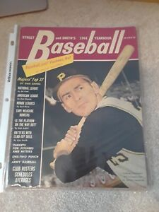 2  Dick Grote Pittsburgh Pirates Magazine Cover Street & Smiths Yearbook