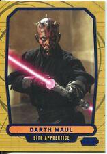 Star Wars Galactic Files Blue Parallel #6 Darth Maul
