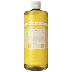Dr. Bronner's 18-in-1 Hemp Citrus Pure-Castile Soap 8 fl oz